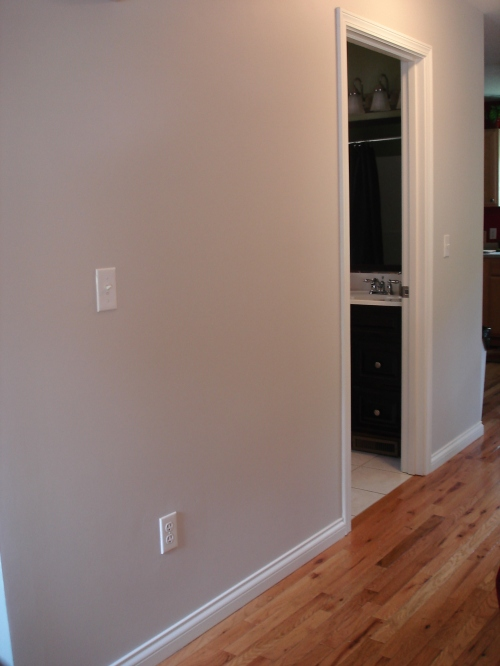 behr's burnished clay in living room