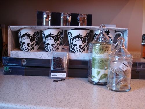 Coffee and Tea Shelf