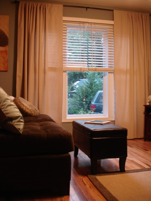 painters canvas drop cloth curtains-1