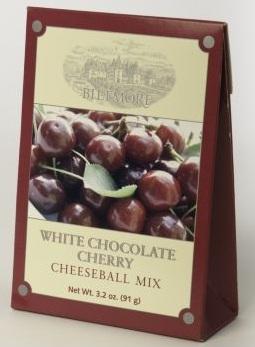 White Chocolate Cherry Cheeseball