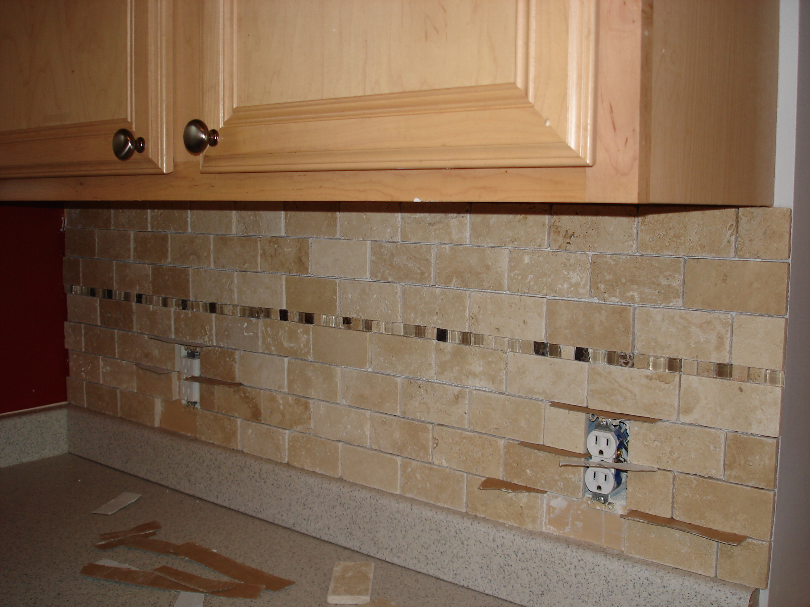 mosaic tile backsplash grouting how to install glass mosaic tile