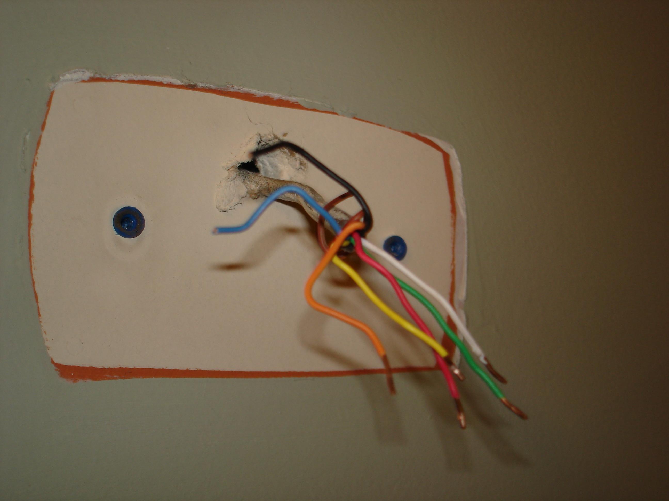 Honeywell Thermostat Wiring Diagram Rth2300b